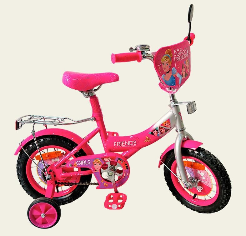 "Велосипед детский Girls Friends 14"" 171422."