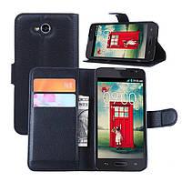 Чехол-бумажник для LG D405 Optimus L90