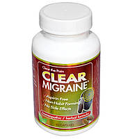 Clear Products, Clear Migraine при мигренях, 60 капсул