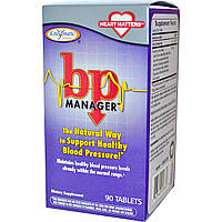Enzymatic Therapy, bp Manager, Менеджер Артериального Давления 90 таблеток