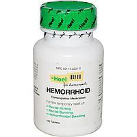 MediNatura, BHI, средство от геморроя, 100 таблеток