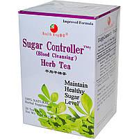 Health King, Травяной чай для контроля уровня сахара (очищения крови), 20 пакетиков, 1,26 унции (36 г)