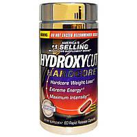 Hydroxycut, Hardcore, 60 капсула с быстрым высвобождением