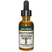 NutraMedix, Houttuynia, Защита от микробов, 1 жидкая унция (30 мл)