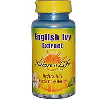 Natures Life, Экстракт обыкновенного плюща, 90 таблеток
