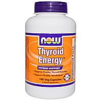 Now Foods, Now Foods, Энергия щитовидной железы, 180 капсул в растительной оболочке