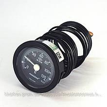 Термометр 0 120°С с выносным датчиком 3 м Ø52, Pakkens Турция
