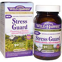 Oregons Wild Harvest, Stress Guard (защита от стресса), 90 вегетарианских капсул без ГМО