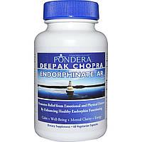 Pondera, Endorphinate AR, формула против стресса и тревожности, 60 капсул
