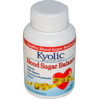 Wakunaga - Kyolic, Экстрактвыдержанного чеснока для нормализации баланса сахара в крови,100 капсул