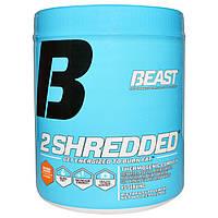 Beast Sports Nutrition, 2 Shredded, вкус апельсина и манго, 10,23 унций (290 г)