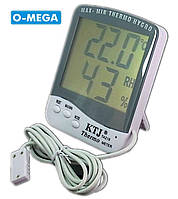 Гигрометр термометр KTJ Thermo MAX-MIN TA218C, фото 1