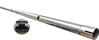 Труба кормления, оцинкованная d 45мм, 1 отверстие