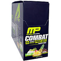 Muscle Pharm, Combat Pro Gel, ассорти, 12 гелей, каждый - 1,62 унции (46 г)