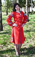 """Вышитое платье бохо """"Рассвет у Львове"""" , фото 1"""
