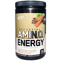 Optimum Nutrition, Essential Amino Energy, холодный чай со вкусом латте, 9,5 унций (270 г)
