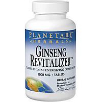 Planetary Herbals, Восстанавливающий женьшень, 1000 мг, 180 таблеток