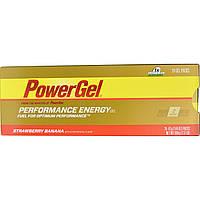 PowerBar, Энергетический гель для выносливости, со вкусом клубники и банана, 24 пакетиков с гелевым содержимым, 1,44 унции (41 г) каждый
