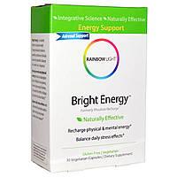 Rainbow Light, Яркая энергия, 30 вегетарианских капсул