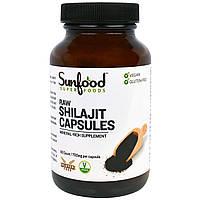 Sunfood, Сырой Шиладжит, Капсулы, 700 мг, 90 капсул