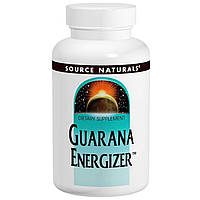 Source Naturals, Энергетик с гуараной, 60 таблеток