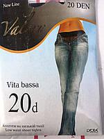 Колготы женские Vita Bassa 20 ден, низкая посадка
