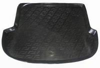 Резиновый коврик в багажник Hyundai Santa FE 10-12 5мест Lada Locer (Локер)
