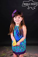 Дитяча індивідуальна фотосесія з фарбами холі!
