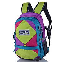 Рюкзак детский Onepolar Детский рюкзак ONEPOLAR (ВАНПОЛАР) W1590-green