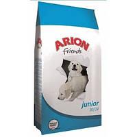 Корм Арион для щенков Френдс Паппи Медиум 10-25 кг, Курица (голубой), 15кг