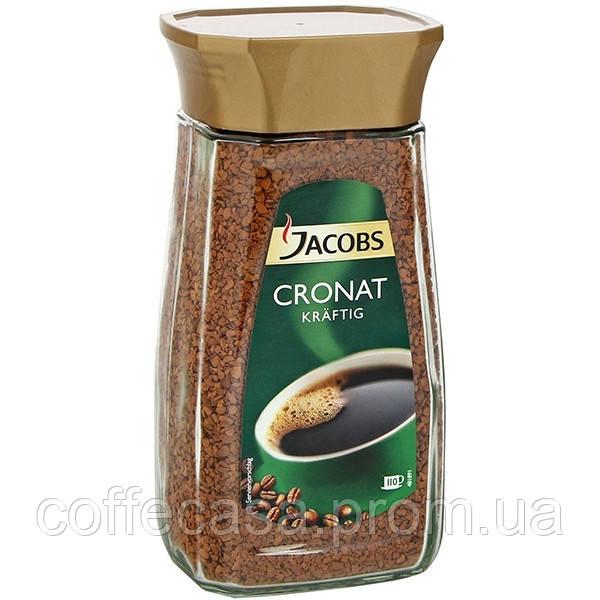 Растворимый кофе Jacobs Cronat Kraftig 200гр