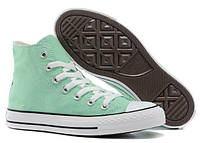 Женские кеды Converse Chuck Taylor All Star High Mint, кеды конверс