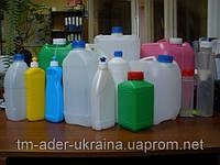 Бутылка пластиковая для бытовой химии