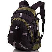 Рюкзак спортивный Onepolar Мужской рюкзак ONEPOLAR (ВАНПОЛАР) W1017-green
