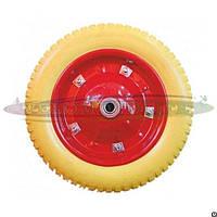 Колесо на садово-строительную тачку 4.00-6 пенополиуретановое (16мм)