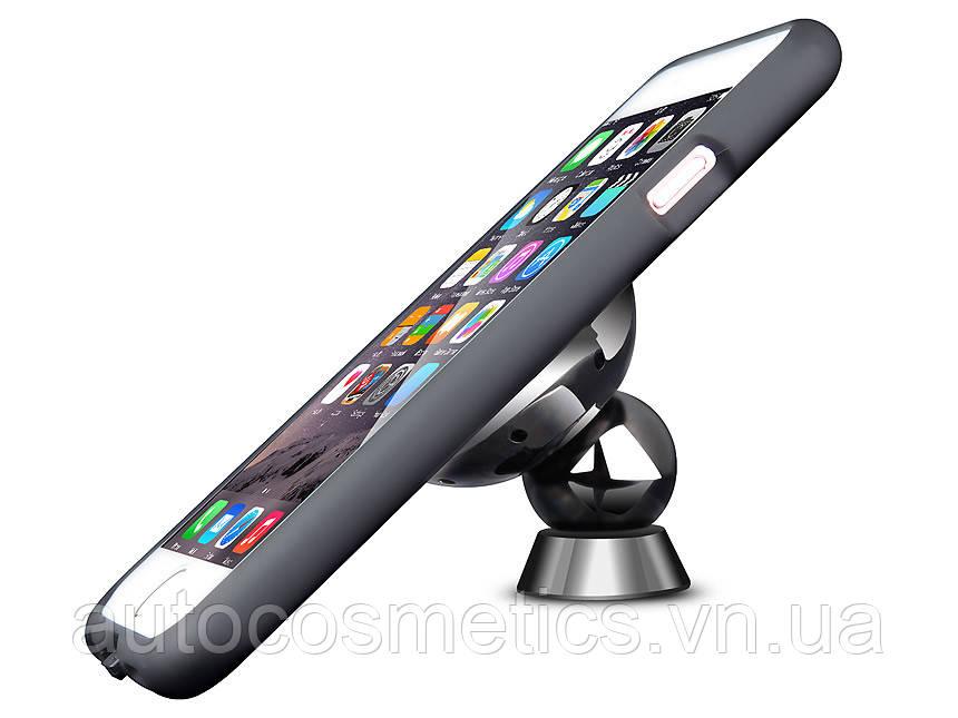 Магнитное Qi беспроводное зарядное автомобильное крепление для iPhone 6+/6s+,7,7+