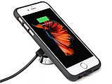Магнитное Qi беспроводное зарядное автомобильное крепление для iPhone 6+/6s+,7,7+, фото 5