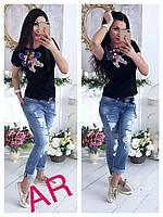 Женская красивая футболка ,2 цвета