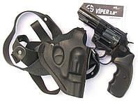 Револьвер Flobert Ekol Viper 3' с кобурой оперативной из кожи