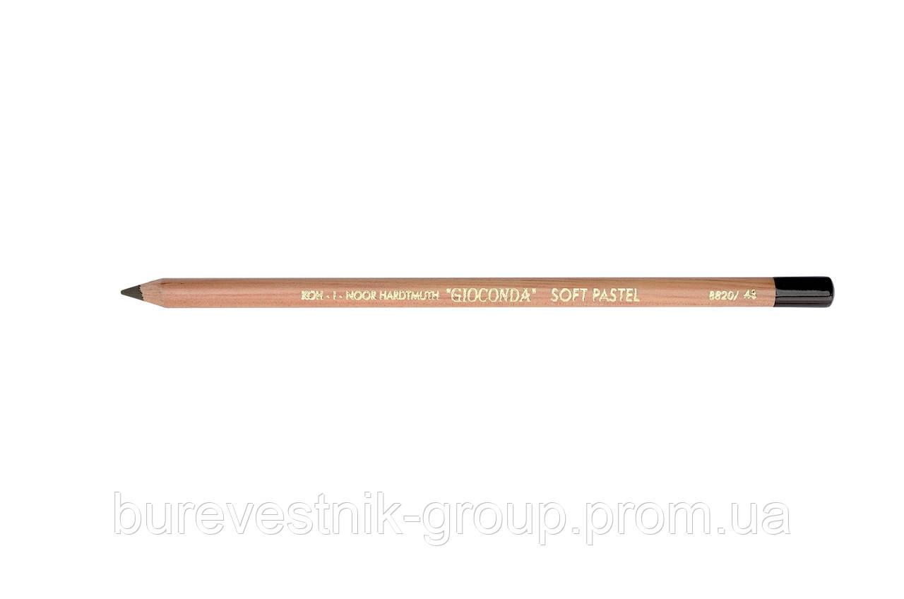 """Пастельный карандаш Koh-i-Noor """"VAN DYCK BROWN"""" 8820/43"""