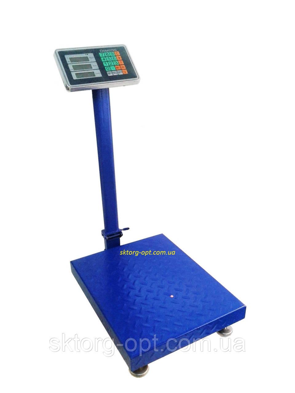 Весы торговые Domotec усиленные 300 кг
