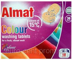 Таблетки для стирки цветного белья Almat Colour-Tabs (36 таблеток)