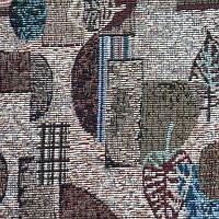 Мебельная ткань Гобелен (жаккард) Листья