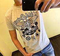 """Мужская серая футболка """"Diesel"""""""