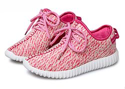 Кроссовки Adidas Yeezy Boost  розовый
