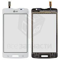 Сенсорный экран для мобильного телефона LG D373 Optimus L80 Blanco, белый