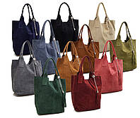 Женская итальянская замшевая сумка V093 Kris Fashion