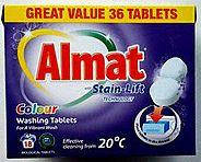 Таблетки для стирки цветного белья Almat Satin-Lift Tabs (36 таблеток)