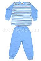 Пижама утепленная для мальчика (86 р.), голубая