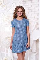 Джинсовое  платье 3 цвета